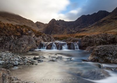 The Fairy Pools op Isles of Skye.