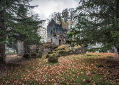 Finlarig Castle Scotland.