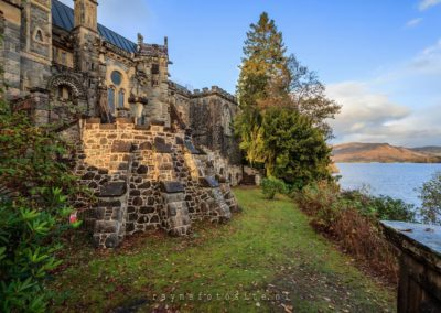 St Conans Kirk, Church of Scotland, bij Loch Awe.