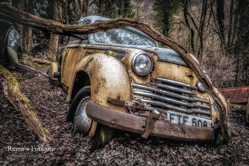 Bavaria Cars of Old Dreams. Urbex auto`s in Duitsland.