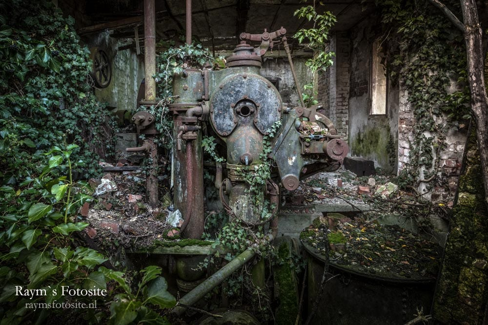 Steenfabriek urbex in België.