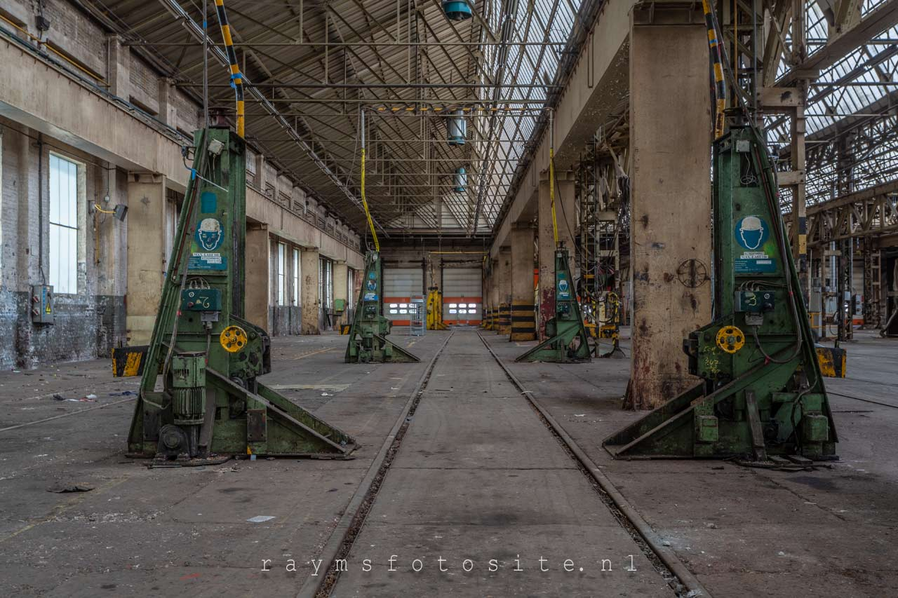 Lost factory part 2. Verlaten industrie.